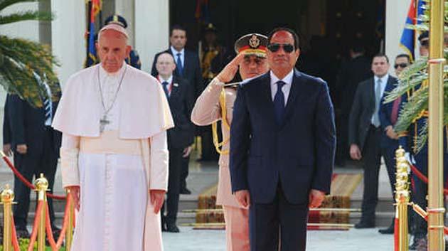 El Papa Francisco: misteriosas acciones en Egipto 0