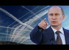 Geoingeniería, Chemtrails, Vladimir Putin, chemtrails aviones ,