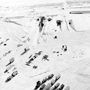 """Proyecto secreto """"Iceworm"""", a ocho metros bajo el hielo en Groenlandia"""