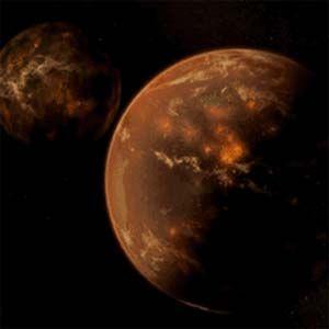 El polvo de óxido de hierro rojo de Nibiru está llegando a nuestro planeta