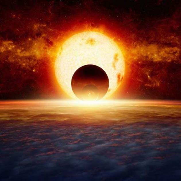 Sistema solar eliptico 0 consecuencias paso del Planeta X