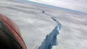Iceberg: mide aproximadamente 25 veces más que CABA