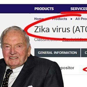La Fundación Rockefelleres dueña de la patente del virus Zika