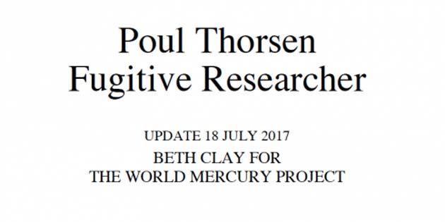 Poul Thorsen 0 responsable del autismo de su hijo