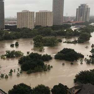 Tecnología de modificación del clima en el huracánHarvey