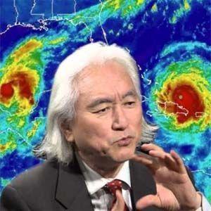Michio Kaku admitió que HAARP es responsable de la reciente oleada de huracanes