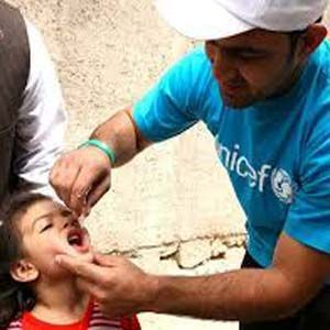 La vacuna contra la poliomielitis está infectando a los niños en Siria