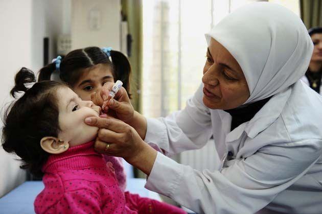 vacunador de virus.