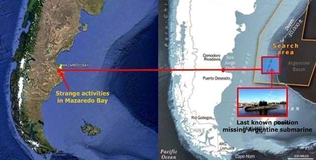 macizo patagonico.