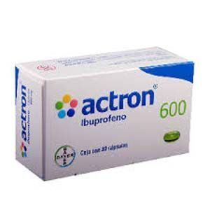 El Ibuprofeno provoca la disminución de los testículos de los hombres jóvenes