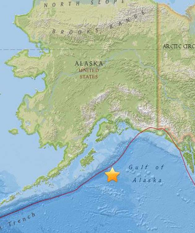 Alaska information: terremoto de 8,2 grados en Alaska