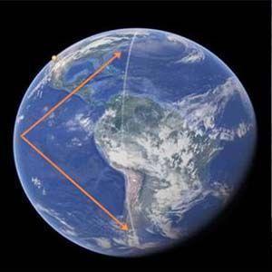 Se detectó una anomalía extraña en Google Earth y Google Maps