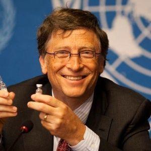 Bill Gates dijo que sus hijos no necesitaban ninguna inyección