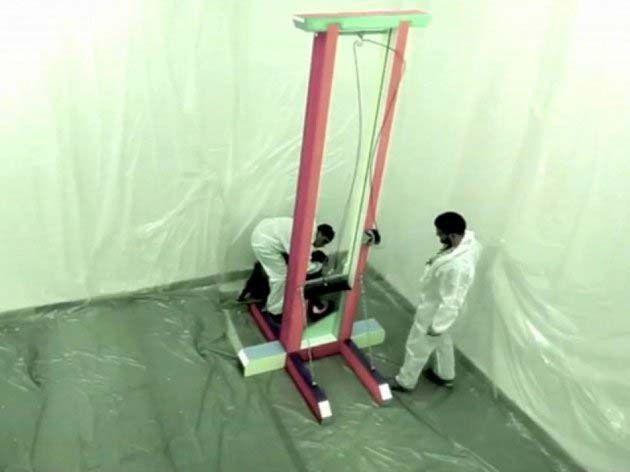 ultima ejecucion guillotina, historia de la guillotina.