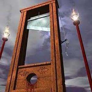 Los militares distribuyeron guillotinas en los campamentos de FEMA
