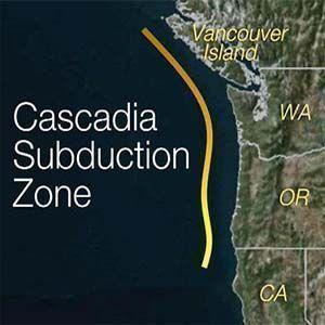 Impactos potenciales de un terremoto en la Zona de Subducción de Cascadia
