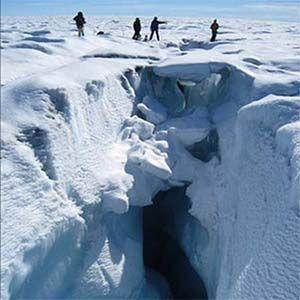 Groenlandia está perdiendo mil millones de toneladas de hielo por día