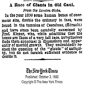 Raza de Gigantes Indios: se encontraron cincuenta esqueletos