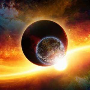 Cielo rojo: ¿óxido de hierro procedente del sistema Nibiru?