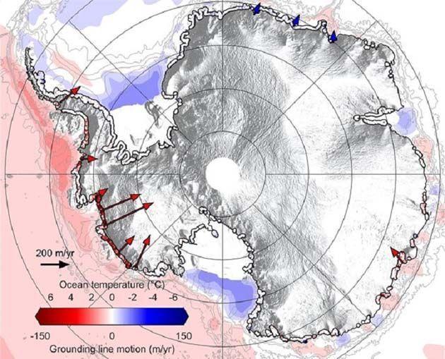 iceberg se desprende antartida.