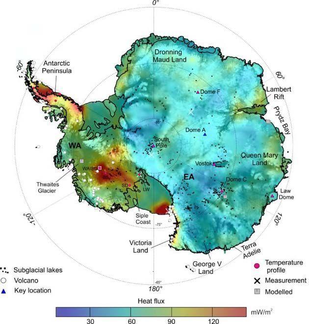 Derretimiento Antártida, antarctica population 2017.