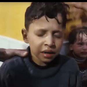 Cascos Blancos usaron un niño sirio para un ataque químico organizado