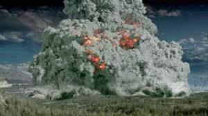 Yellowstone magma: el área indica que está bajo presión 0