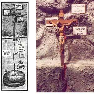 Tumba de Jesus derrama sangre: la policía israelí selló el área