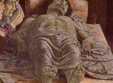 deposizione di cristo, holy sepulchre closed.