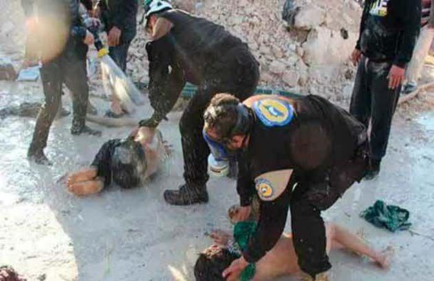 Ataque químico, ataque químico siria.