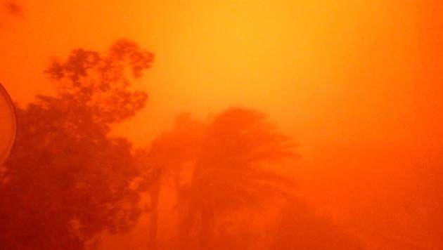 Tormenta de arena bíblica, tormenta de arena en zacatecas.