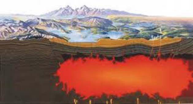 yellowstone magma chamber.