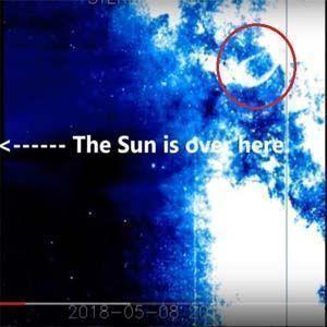 Gran explosión en el Sistema Solar envía una enorme onda de choque