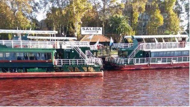 informacion sobre el rio parana Aumento puntual.