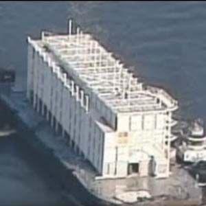 Cualquiera que sea escoltado a una barcaza de FEMA será encarcelado