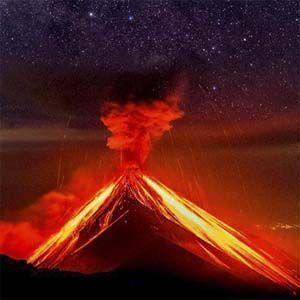Guatemala: se formaron montículos de ceniza caliente de 8 a 10 metros