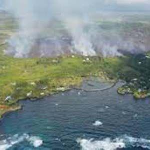 El lago de agua dulce más grande de Hawai se evaporó