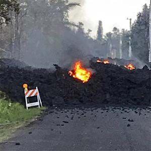 Hawai: las autoridades no pueden hacer nada para detener los ríos de lava