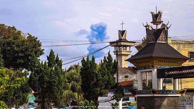 erupciones volcanicas en ecuador.