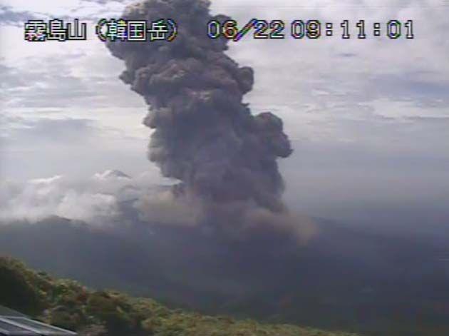 erupciones volcanicas en el salvador.