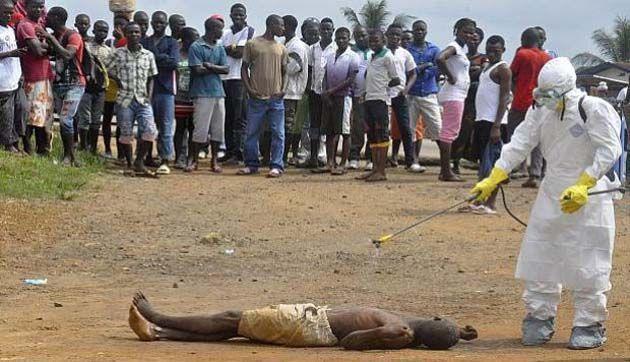 Ébola en Liberia, evola