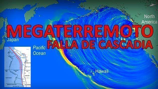 Mega Terremoto de Cascadia, servicio sismologico nacional.