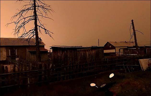 Rusia turismo: 1 Repentina oscuridad en Siberia, Yakutia