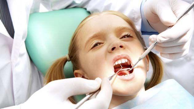 salud bucal para niños.