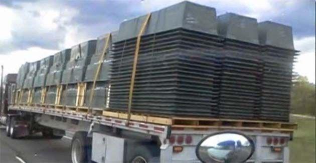 Emergencias medicas: FEMA CAMPS, solicitó 500.000 féretros de plástico