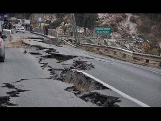 Terremoto: La placa se ha movido 4 cm. cada 12 meses