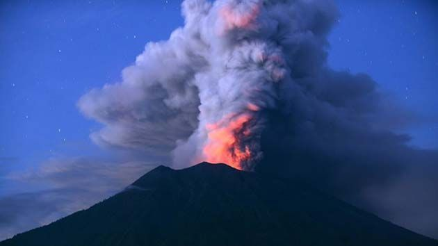 Galapagos: Erupciones volcánicas actuales en todo el mundo