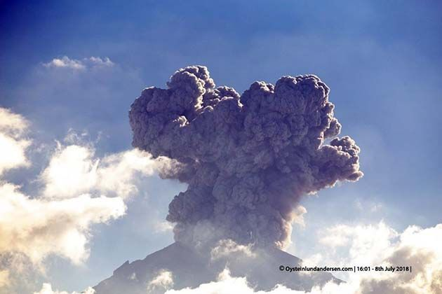 Galapagos: 1 erupciones volcánicas actuales en todo el mundo