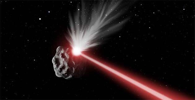 Thule: un meteoro de 244 metros, casi destruye la base de Thule