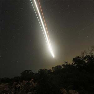 Un meteoro de casi 244 metros de diámetro casi destruye la base de Thule